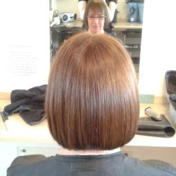 straight cut header